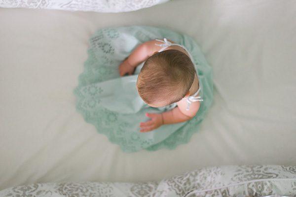 שלבי הישיבה של התינוק