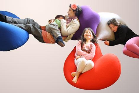 פוף רך ונעים לתינוקות וילדים