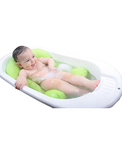 בטיה לרחצת תינוקות באמבטיה ירוק